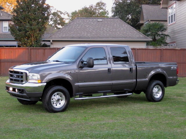 ford f250 crew cab short bed xlt low mileage 7 3l diesel mint condition. Black Bedroom Furniture Sets. Home Design Ideas