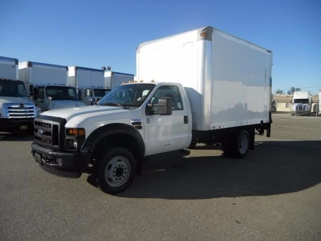 Ford F550 12ft Box Truck Liftgate Freightliner