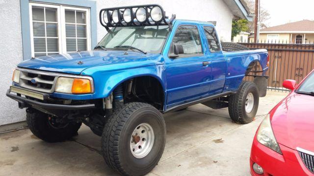 Ford Ranger Pre Runner V8 Full Roll Cage Ca Plates Baja