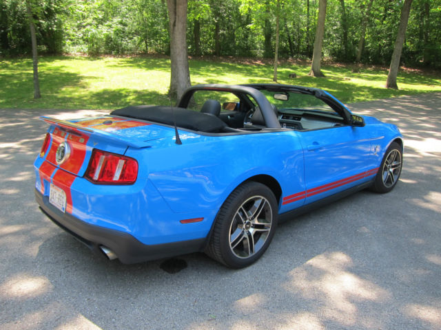 Ford Shelby Mustang 2010, GT500 GT-500 Convertible TASCA ...