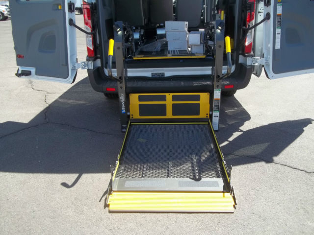 Ford Transit 150 Handicap Transport Van With Smartfloor