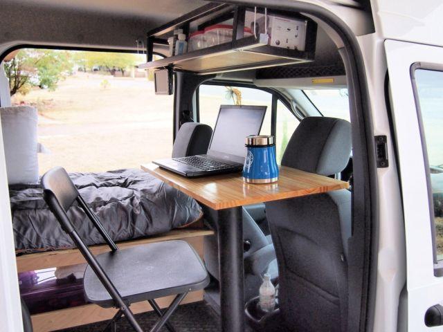 ford transit connect camper van. Black Bedroom Furniture Sets. Home Design Ideas