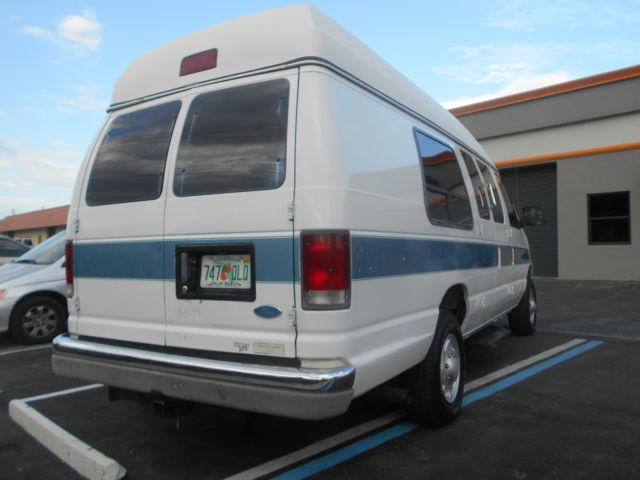 Ford Van E250 E 250 Cargo Van High Top Conversion Van Low