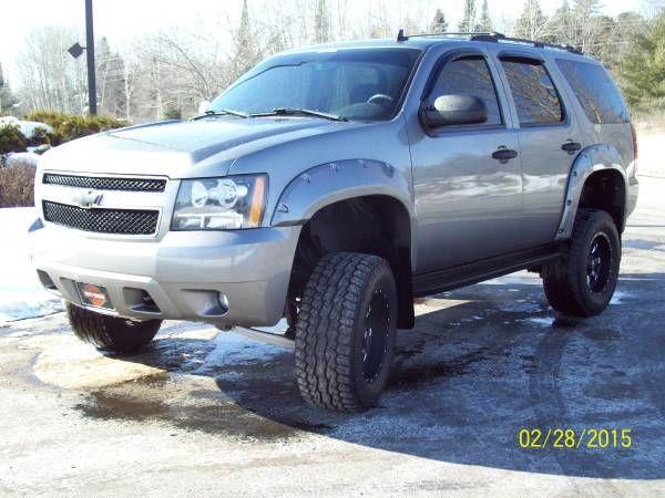 Fuel Custom Lifted 2007 Chevy Tahoe