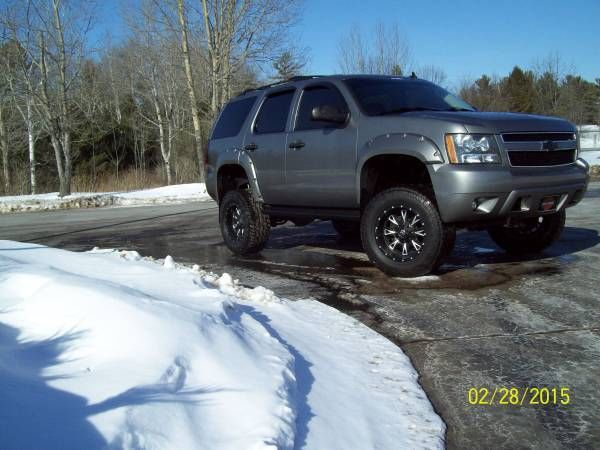 Fuel Custom Lifted 2007 Chevy Tahoe