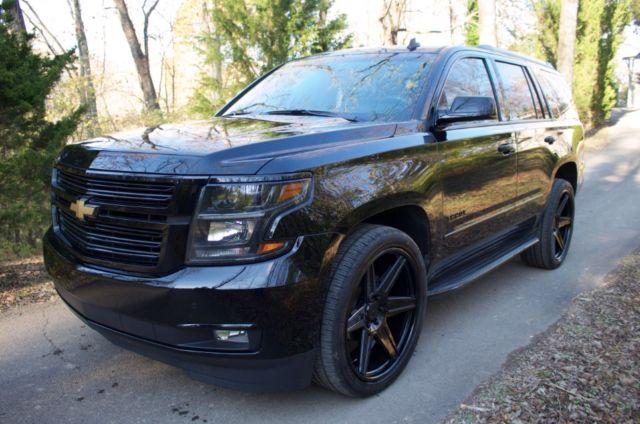 Custom Chevy Tahoe >> Fully Loaded 2015 Chevy Tahoe Custom Adv 1 Wheels New Paint And