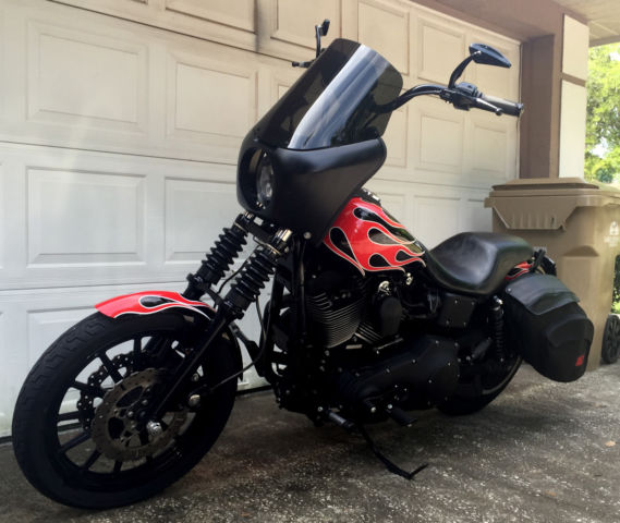 """Ebc Brake Pads >> FXDX Club Style Dyna 95"""" Dave Mackie motor with Primo Rivera 6 speed NO RESERVE!"""