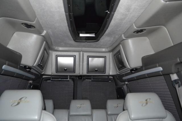 GMC Custom Van Savana With High Top Sherrod Conversion Package