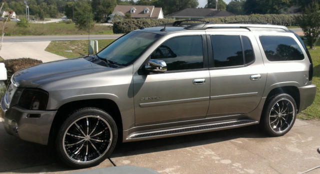 Cars With 3rd Row Seating >> GMC ENVOY Denali XL SUV 5.3L V8 DVD 3rd ROW SEATING Excellent Condition