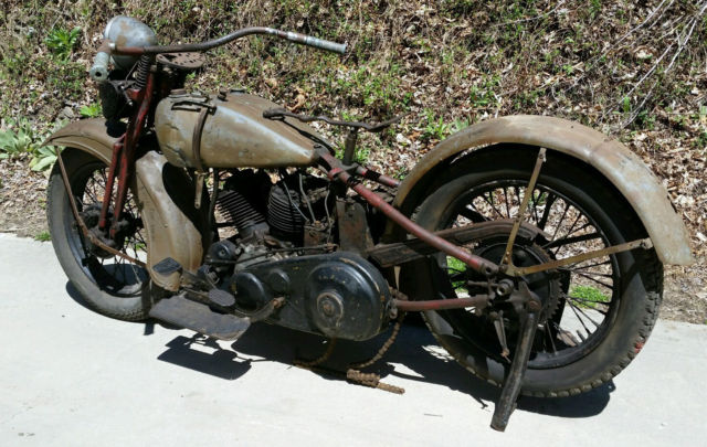 Harley Davidson 1933 Vl I Think