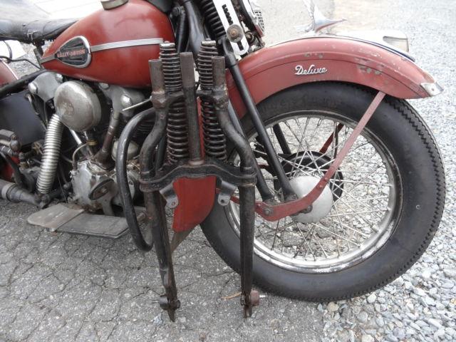 Antique Harley Springer Front End – HD Wallpapers