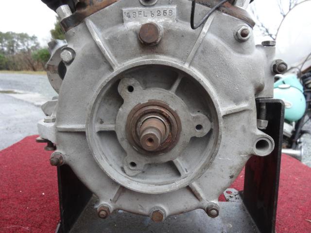 HARLEY DAVIDSON 1948FL PANHEAD ENGINE W/NC TITLE ...