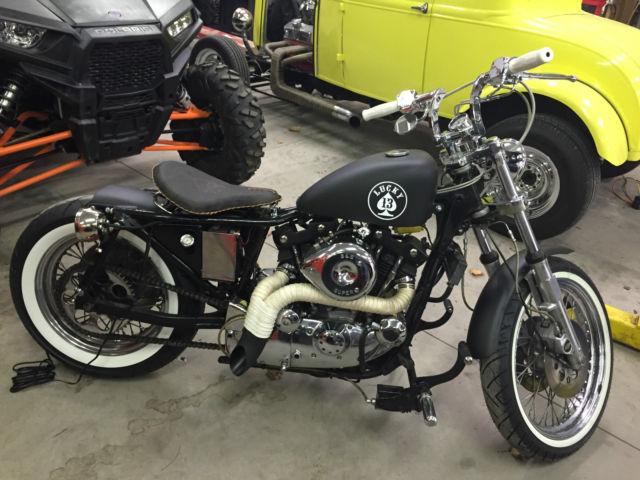 Harley Davidson 1979 Ironhead Sportster Bobber Cafe Racer