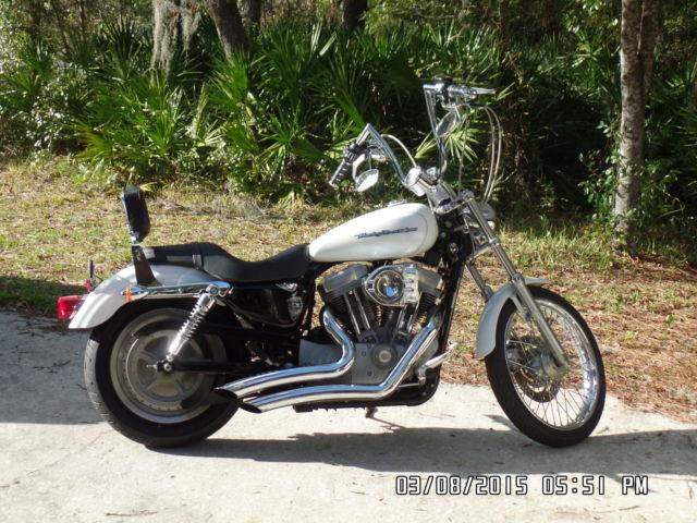 Harley Davidson 2004 Sportster 883c W Ape Hangers Vance