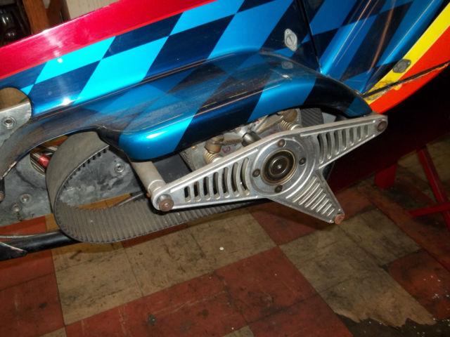 Harley Davidson B Fuel Hi Gear Drag Bike