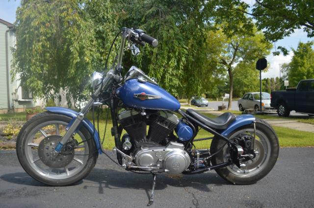 Harley Davidson Chopper Bobber Custom Hardtail Evo 1200