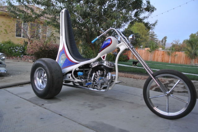 Used Harley Davidson Motorcycles For Sale California >> Harley Davidson Chopper Flathead Knucklehead Trike Servicar Ed Roth Rat Fink
