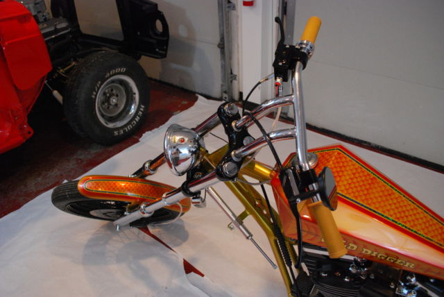 Hand Controls For Cars >> Harley Davidson Custom Digger 70's Style Chopper Old School Sportster 1200
