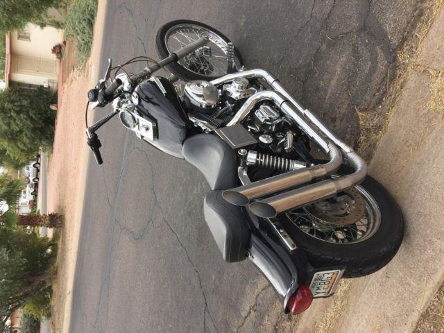 Harley Davidson Fwg Dyna Wide Glide Bobber Chopper Old