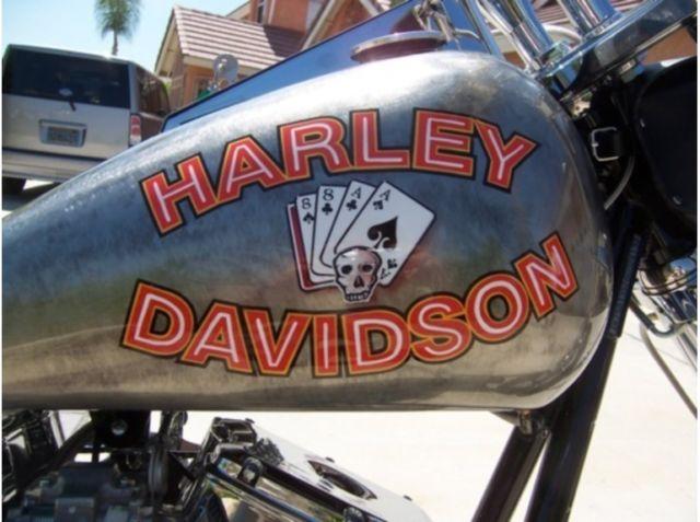 Twin Disc Clutch >> Harley Davidson & Marlboro Man Custom Chopper Aces & Eights, Kraft-Tech/Ultima
