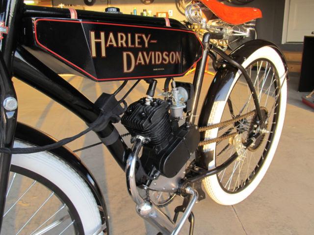 Harley Davidson Replica Vintage Motorcycle Flat Track