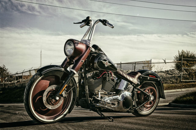 Harley Davidson Softail Fatboy Chopper Bobber