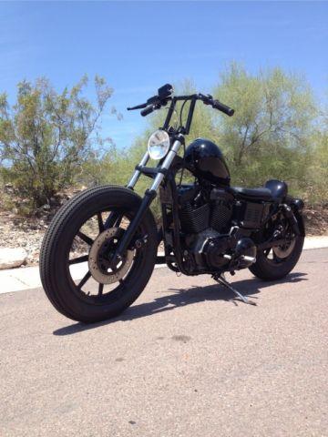 Harley Davidson Sportster 1200 Brat Style Bobber Flat