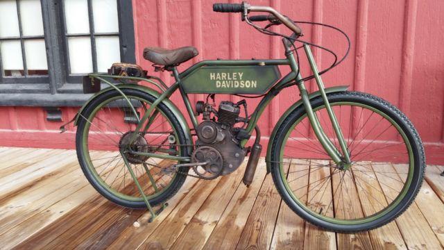 Harley Davidson Tribute Replica Board Track Racer Motorized Bike 1913 Custom Built Motorcycles Other