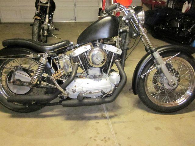 Harley Sportster Ironhead Xlch Vintage Bobber Xl Xlh Xlr Xlch Amf on 1969 Ironhead Sportster