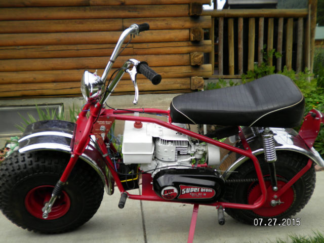 Super Bronc Mini Bike : Heald super bronc motor scooter