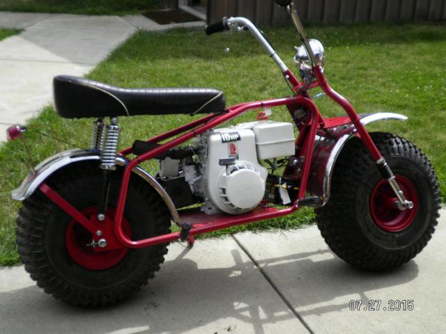 Heald Super Bronc Motor Scooter
