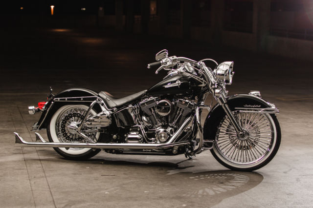 Used Harleys For Sale >> Heritage Cholo Style Softail, Just Completed and ready for you