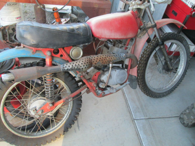 hodaka super rat 100cc ace ahrma mx dirt bike not wombat. Black Bedroom Furniture Sets. Home Design Ideas