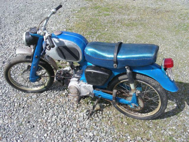 honda    moped motorcycle scooter  restoration