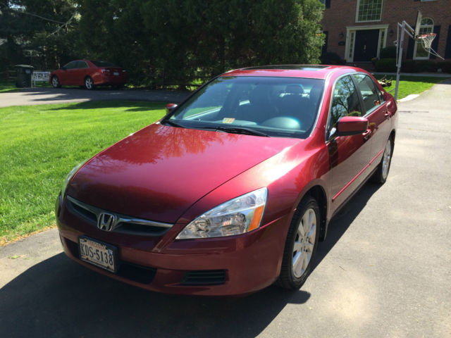 Honda Accord Ex V6 2006 First Owner No Problems Runs And Looks Like New