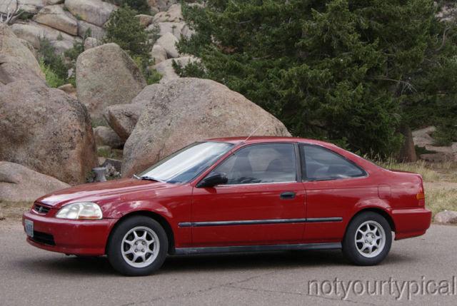 1997 Honda Civic DX Coupe  YouTube