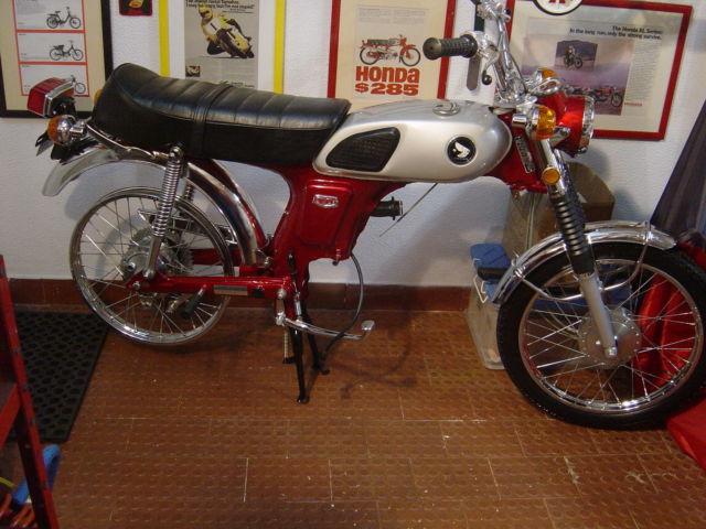 Honda Cl70 K0 1969 Usa Perfect Restoration All Nos Honda