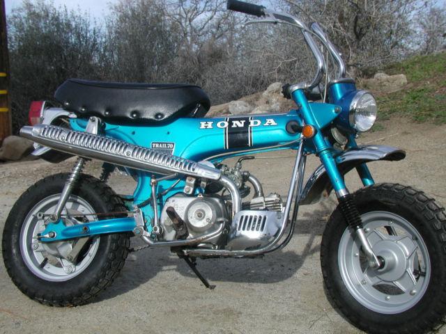Ct Dmv Bill Of Sale >> Honda CT70 Trail 70 CT 70 1969 Silver Tag