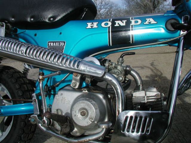 Ct Dmv Bill Of Sale >> Honda CT70 Trail 70 CT 70 1969 Silver Tag