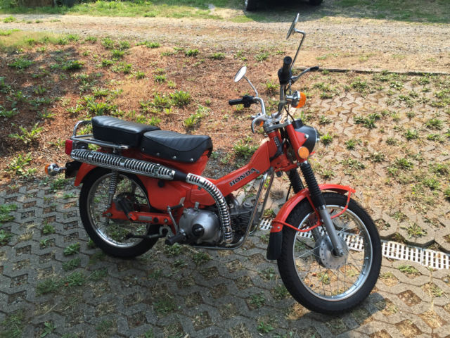 Honda Ct90  Trail 90  1977