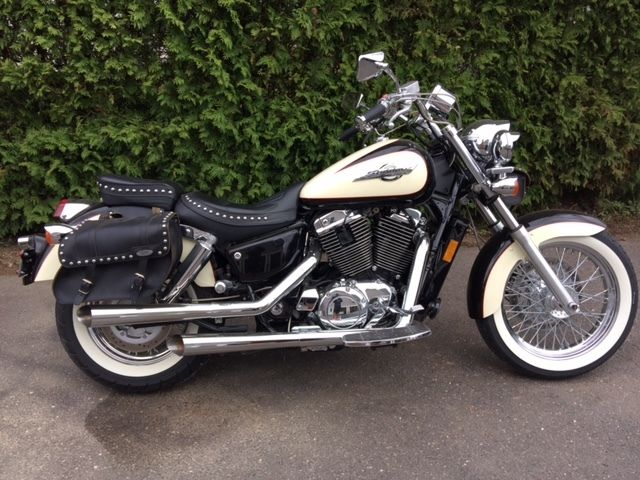 honda shadow 1100 c2 ace limited edition loaded mint condition. Black Bedroom Furniture Sets. Home Design Ideas