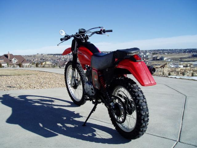 Honda Xl on Honda Xr 250 Specifications