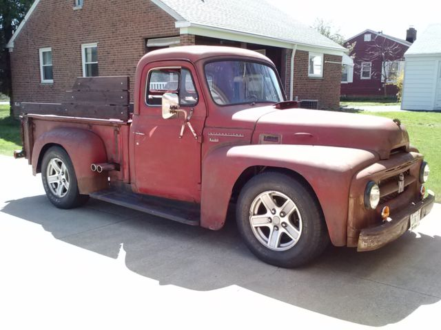 Hot Rod Resto Mod 4x4 Rat Rod 1953 INTERNATIONAL Pickup