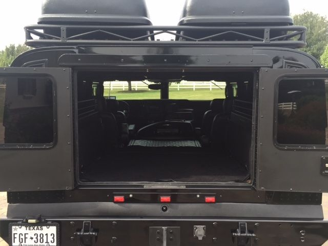 Hummer H1 2006 Black Alpha Wagon W Custom Interior