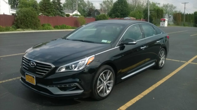 hyundai sonata black new condition 2 0t sport limited edition