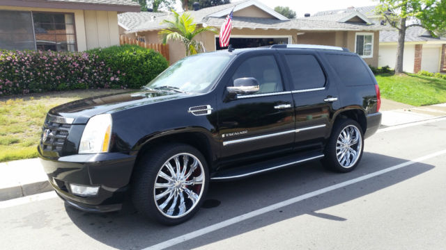 Immaculate 2008 Cadillac Escalade Custom Everything 24 Quot Wheels