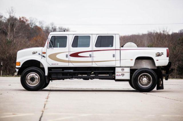 International 4800 6 Door 4x4 Truck F650 Cxt Kodiac F350 F750