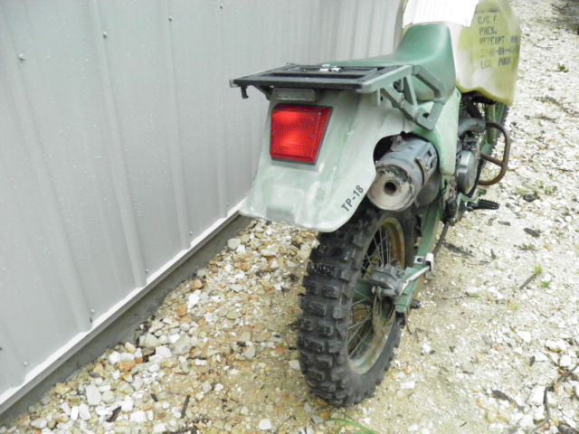 Iraq War Kawasaki KLR650 Marine Bike