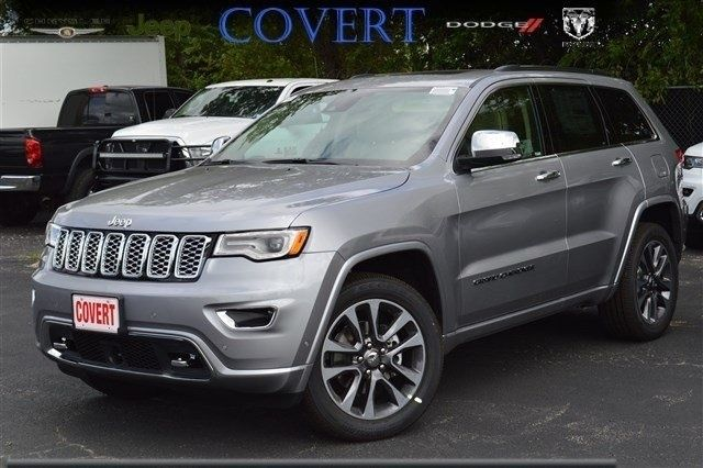 J08924 New Jeep Grand Cherokee Overland Silver Suv Moonroof 3 6l V6 24v 4wd