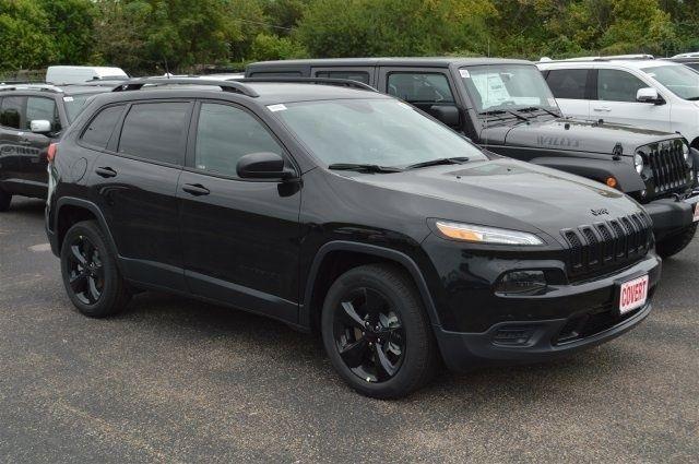 J08994 New Jeep Cherokee Sport Black Suv 2 4l I4 16v Automatic Fwd